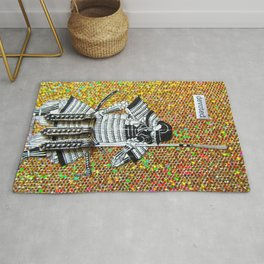 The Warrior's Commitment Rug