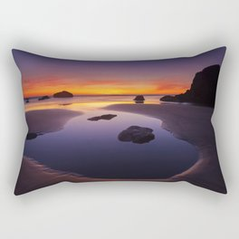 Arcadia Beach Reflections Rectangular Pillow
