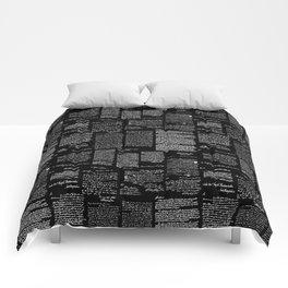 George Washington's Letters // Black Comforters