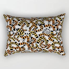 Tiger Toes and Laundry Terrors Rectangular Pillow