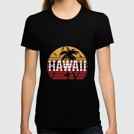 Ohana Family Is All Hawaii Vacation Motif Design T-shirt