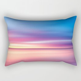 Abstract Sunset V Rectangular Pillow