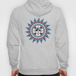 Southwest Native American Art Mandala Hoody