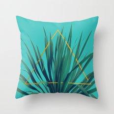 Geometric Fountain Throw Pillow
