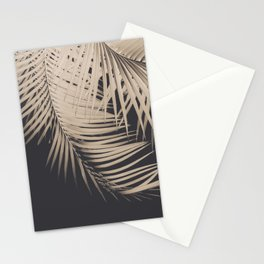 Palm Leaves Sepia Vibes #1 #tropical #decor #art #society6 Stationery Cards