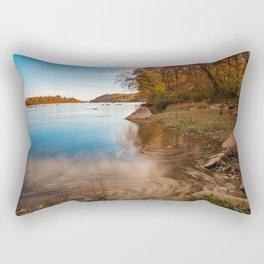 Autumn Susquehanna River Rectangular Pillow