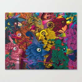 Cuckoos Canvas Print