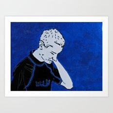 Blue Sky, Blue Soul Art Print
