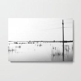 Overflowing lagoon Metal Print