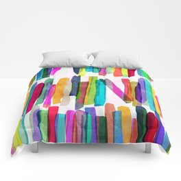 Colorful Stripes 5 Comforters