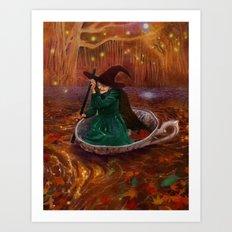 The Tea Witch Art Print