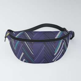 Abstract Chevron Fanny Pack