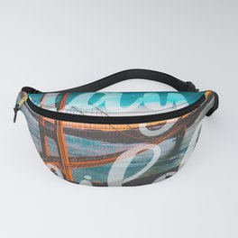 STAY WILD San Francisco Fanny Pack
