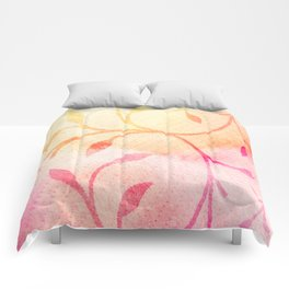 Summer Leaves Comforters