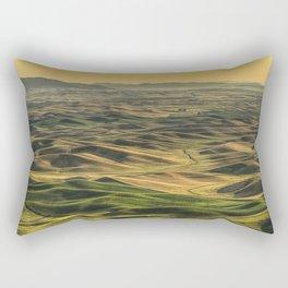 Shades of the Palouse Rectangular Pillow