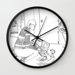 A safe Space Wall Clock