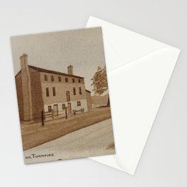 H.E. Valentine - Half Way House on Turnpike between Richmond and Petersburg, 1863 Stationery Cards