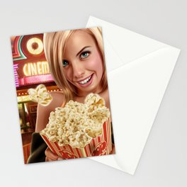 CINEMA POP Stationery Cards