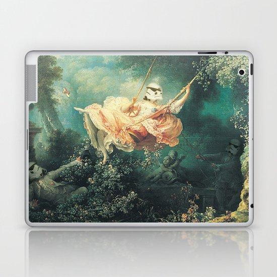 "Homage to Fragonard, ""The Swinging Stormtrooper"". Laptop & iPad Skin"