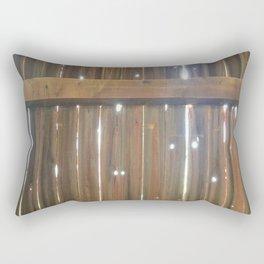 Sunlight Through the Barn Rectangular Pillow