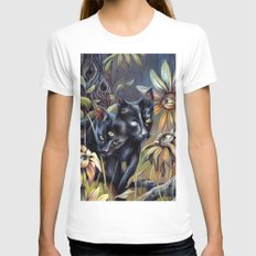 Siamese Twins Womens Fitted Tee White MEDIUM