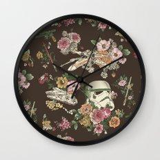 Botanic Wars Wall Clock