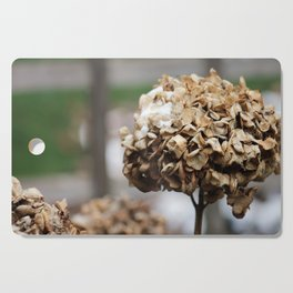 Death and Flowers Cutting Board
