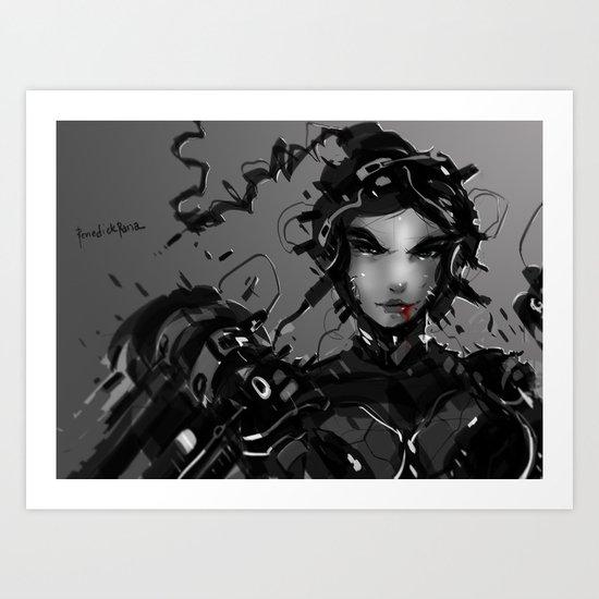 Cybergen Ver2 Art Print