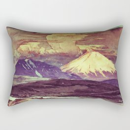 The Rising Fall Rectangular Pillow