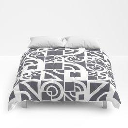 Bauhaus 39 Grey&White ed. Comforters