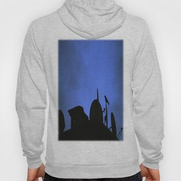 Incoming night on the city Hoody