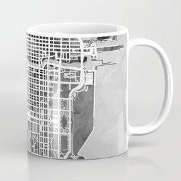 Chicago City Street Map Coffee Mug