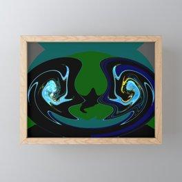 Keep Em Apart Framed Mini Art Print