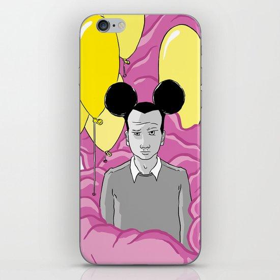 On a Pink Cloud iPhone & iPod Skin