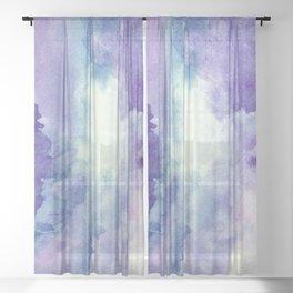 Wisteria Dreams Sheer Curtain