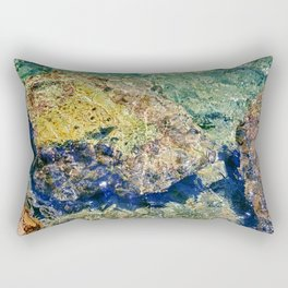 Rocks at the beach II Rectangular Pillow