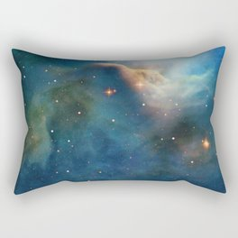 Dusty Nebula Rectangular Pillow