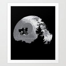 ET Wars Art Print
