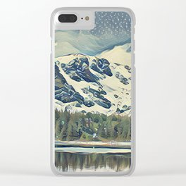 St Mary's Lake Clear iPhone Case