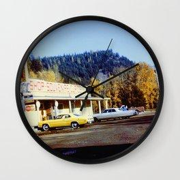 Souvenir Stand Wall Clock