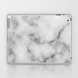 White Marble Pattern Laptop & iPad Skin