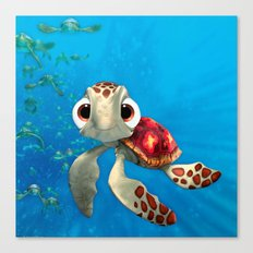 Squirt Canvas Print