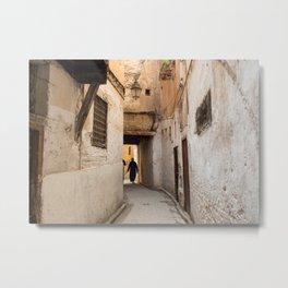 Medina of Fes, Morocco II Metal Print