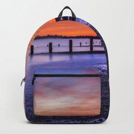 Sunset over Dymchurch Backpack