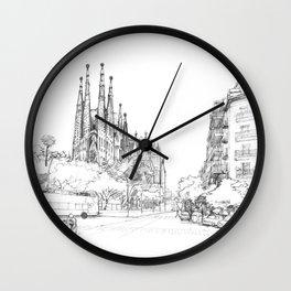 Bcn 5 Wall Clock