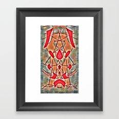 The spiders Framed Art Print