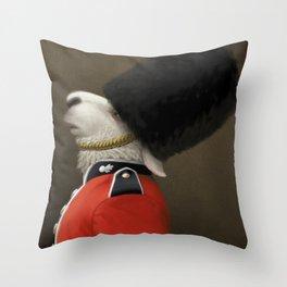The Sheep Guard Throw Pillow