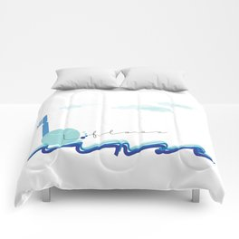 Brush Floss Rinse Comforters