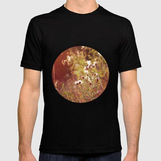 golden dandelions. T-shirt