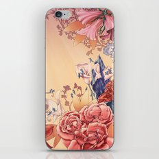 The flowers iPhone & iPod Skin